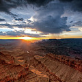 Grand Canyon Monsoon Sunset by Alissa Beth Photography
