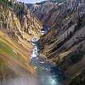 Grand Canyon Of The Yellowstone by Stephen Rowles