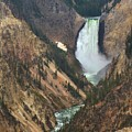 Grand Canyon Of The Yellowstone by Vinny Del Conte