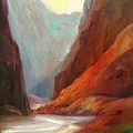 Grand Canyon Rafting by Sally Seago