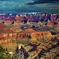 Grand Canyon Storm by Richard Cronberg