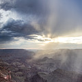Grand Canyon Sunset Heading Into The Light  by John McGraw