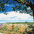 Grand Canyon View From South Rim Overlook by A Gurmankin