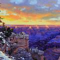 Grand Canyon Winter Sunset by Gary Kim