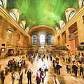Grand Central Rush     Go2 by Ray Warren