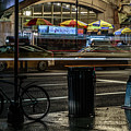 Grand Central Terminalfood Carts by Charles A LaMatto