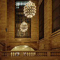 Grand Central Terminal Light Reflections by Charles A LaMatto