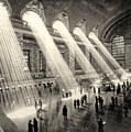 Grand Central Terminal, New York In The Thirties by American School