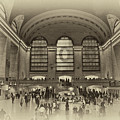 Grand Central Terminal Vintage by Steve Purnell