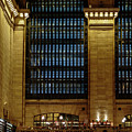 Grand Central Terminal Window Details by Charles A LaMatto