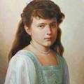 Grand Duchess Anastasia Nikolaevna Of Russia by George Alexander