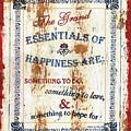 Grand Essentials Of Happiness by Debbie DeWitt