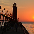 Grand Haven Light by Stephen Path