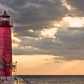 Grand Haven Lighthouse Hdr by Jeramie Curtice