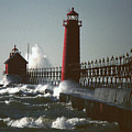 Grand Haven, Michigan by Kenneth Campbell