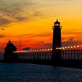 Grand Haven Sunset by Nick Zelinsky