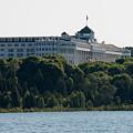 Grand Hotel On Mackinac Island by Wesley Farnsworth