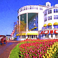 Grand Hotel Tulips by Dennis Cox