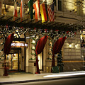 Grand Hotel Vienna At Christmas by David Birchall