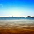 Grand Marais Harbor by Linda Tiepelman