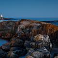 Grand Marais Lighthouse by Joe Mamer