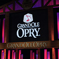 Grand Ole Opry House In Nashville, Tennessee. by Timothy Wildey