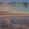 Grand Prismatic In Yellowstone Park by Josie Spencer