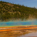 Grand Prismatic Pool by Beth Collins