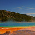 Grand Prismatic Pool II by Beth Collins