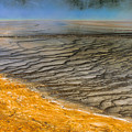 Grand Prismatic Runoff by Sandra Bronstein