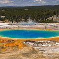 Grand Prismatic Spring by Chad Davis