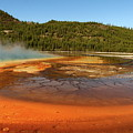Grand Prismatic Spring  by Christiane Schulze Art And Photography