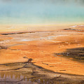 Grand Prismatic Spring Close Up  by John McGraw