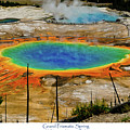 Grand Prismatic Spring by Greg Norrell