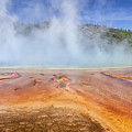 Grand Prismatic Spring by Maria  Struss