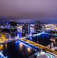 Grand Rapids At Night by Chris Long