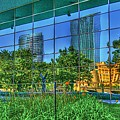 Grand Rapids Mi On Glass-18 by Robert Pearson