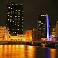 Grand Rapids Mi Under The Lights-2 by Robert Pearson
