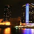 Grand Rapids Mi Under The Lights-4 by Robert Pearson