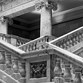 Grand Staircase Detail #2 by TL  Mair