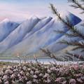 Grand Teton Mountains by Allan Carey