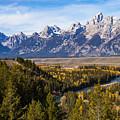 Grand Teton Mountains by Bob Phillips