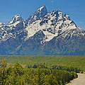 Grand Teton National Park And Snake River by Dan Sproul