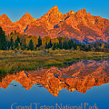 Grand Teton National Park Poster by Greg Norrell