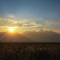 Grand Teton Open Plains Sunset by Michael Ver Sprill