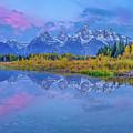 Grand Teton Sunrise Panoramic by Scott McGuire
