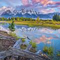 Grand Teton Sunrise Reflection by Scott McGuire