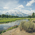 Grand Teton View No.2 by Margaret Pitcher