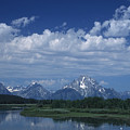 Grand Tetons In Spring by Stan and Anne Foster