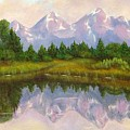 Grand Tetons by Merle Blair